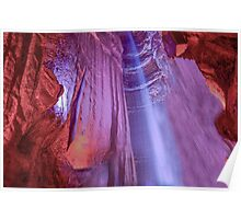 Ruby Falls in Chattanooga, Tennessee. Poster