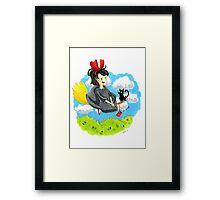 Kiki and JiJi  Framed Print