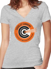 Chudley Cannons 1 Women's Fitted V-Neck T-Shirt