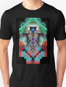 Leon Russell Upside-Down Art by L. R. Emerson II Unisex T-Shirt