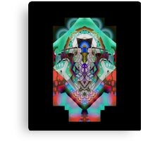 Leon Russell Upside-Down Art by L. R. Emerson II Canvas Print