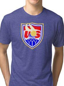 US Quidditch - World Cup 2014 Tri-blend T-Shirt