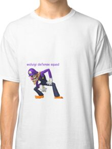waluigi defense squad 2k16 Classic T-Shirt