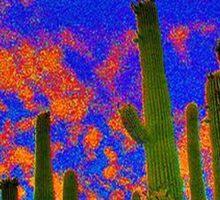 Arizona Cactus Sticker