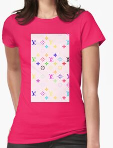 LOUIS VUITTON LIMITED Womens Fitted T-Shirt