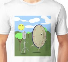 Dish and Spoon Elope   Unisex T-Shirt