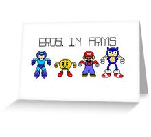 Bros. in Arms Greeting Card