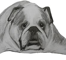 British Bulldog Illustration  by JamesPeart