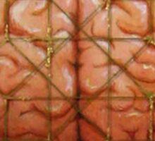 Cerebral Hyperstereogram III Sticker