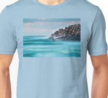 Dawn at the breakwater Unisex T-Shirt