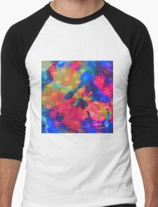 Color Happy Men's Baseball ¾ T-Shirt