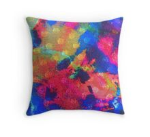 Color Happy Throw Pillow