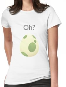 Pokemon Egg Hatching Womens Fitted T-Shirt