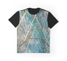 Bamboo Structure Against the Sky Graphic T-Shirt