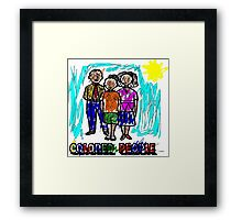 Colored People Framed Print