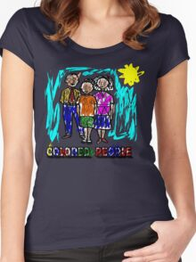 Colored People Women's Fitted Scoop T-Shirt