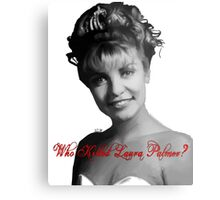 Who Killed Laura Palmer Metal Print