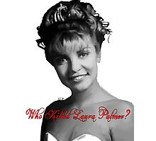 Who Killed Laura Palmer Photographic Print