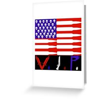 The American V.I.P.s  Greeting Card