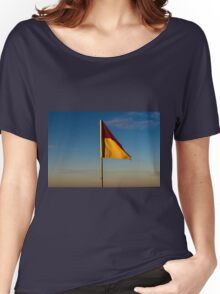 Waving Flag Women's Relaxed Fit T-Shirt