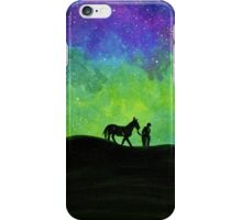 A Man and His Horse Original iPhone Case/Skin