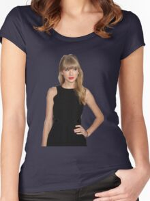 Taylor Swift Red Women's Fitted Scoop T-Shirt