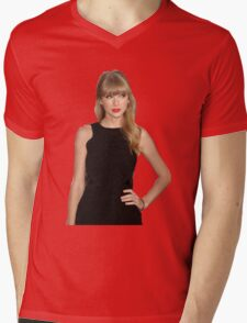 Taylor Swift Red Mens V-Neck T-Shirt
