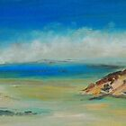 Sandy Point VIC (oil on canvas panel) by Margaret Morgan (Watkins)