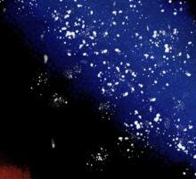 Planet and Nebula Sticker