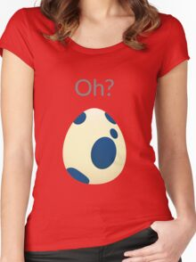 Pokemon Egg Mystic Women's Fitted Scoop T-Shirt