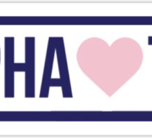 Brandy Melville Alpha Sigma Tau Sticker