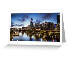 Melbourne Cityscape Greeting Card