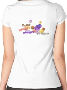 Do not Take Candies From Strangers (Pokemon Go) Women's Fitted Scoop T-Shirt