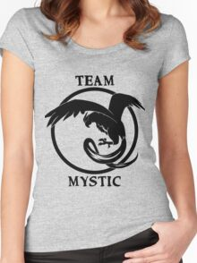 Team Mystic Logo Women's Fitted Scoop T-Shirt