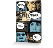 Ghostbusters - Kevin Answer The Call Greeting Card