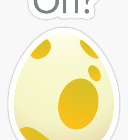 Pokemon Egg Instinct Sticker