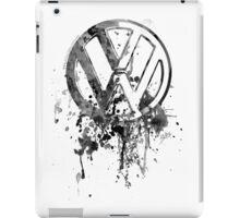 Vee Dub Emblem Splatter BW © iPad Case/Skin