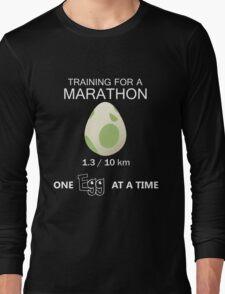 Training for a Marathon! (Pokemon Go!) Long Sleeve T-Shirt