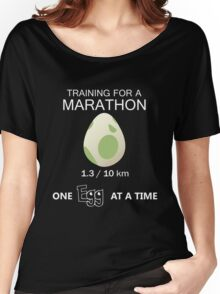 Training for a Marathon! (Pokemon Go!) Women's Relaxed Fit T-Shirt