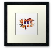 Love Handel Framed Print