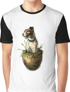 Lily in the Flower Pot Graphic T-Shirt