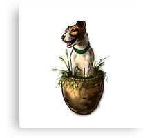 Lily in the Flower Pot Canvas Print
