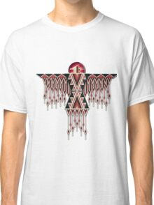 Red Native American Southwest-Style Thunderbird Classic T-Shirt