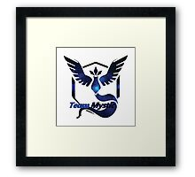 Team Mystic Pokemon Go Framed Print