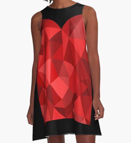 Corset - Hearts Delight Diamonds A-Line Dress