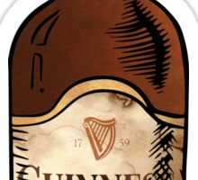 Watercolor Guinness Sticker