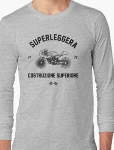 Construzione Superiore - Black Long Sleeve T-Shirt