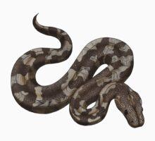 Snake - Ball Python One Piece - Short Sleeve