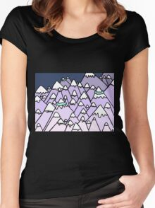 Purple Mountains Women's Fitted Scoop T-Shirt