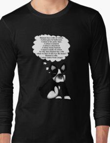 Boston Terrier: Cotton Wisdom Long Sleeve T-Shirt